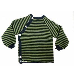 Reläx Wollschlüttli marine/grün