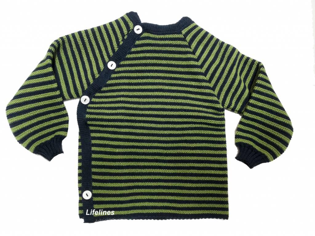 Reläx / Reiff Strick Reläx Wollschlüttli marine/grün