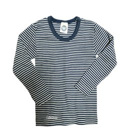 Cosilana Cosilana Wolle/Seide Kinderhemd langarm Ringel