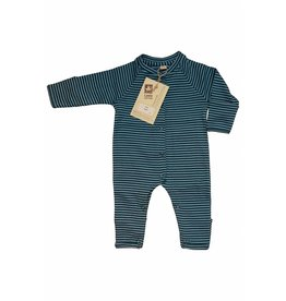 Leela Cotton Overall Atlantic Ringel kbA Baumwolle Leela Cotton