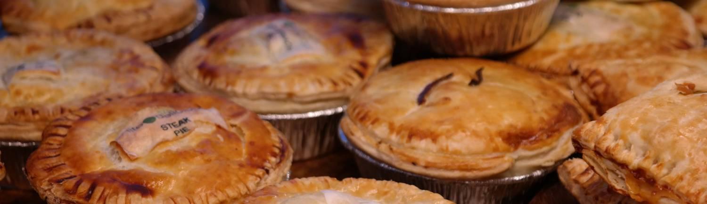 home made pie's