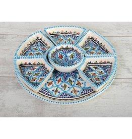 Dishes & Deco turk blue fine tapasschaal