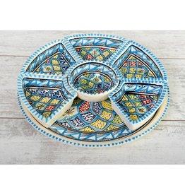 Dishes & Deco turk blue tapasschaal
