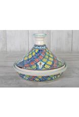 Dishes & Deco Turk blue Tajine