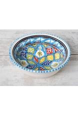 Dishes & Deco saladier turk blue fine