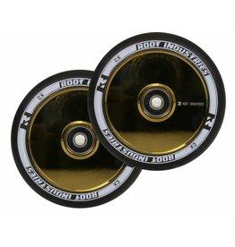 Root Root air wielen 120mm goud