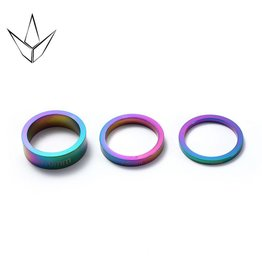 Blunt  Blunt spacers set  neo chrome