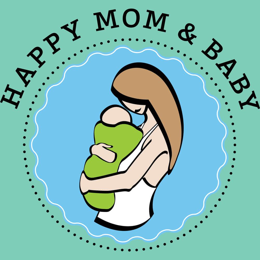 Happy Mom und Baby