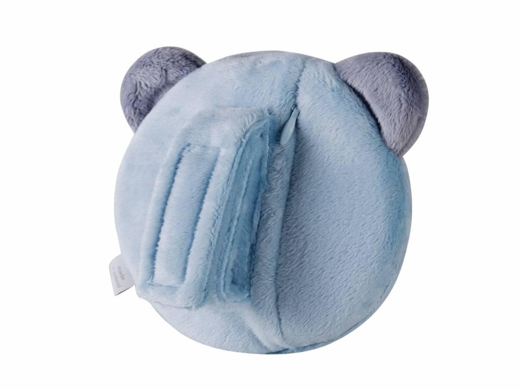 myHummy Petite tête de mascotte qui dort - bleu