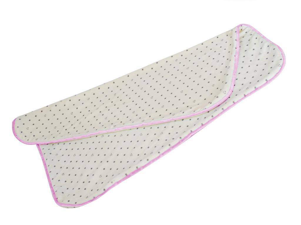 myHummy ince sarılma battaniyesi- pembe