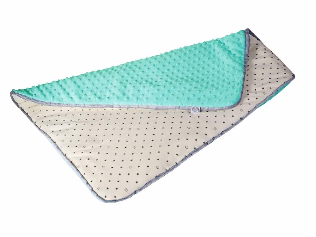 myHummy baby deken in de kleur mintgroen