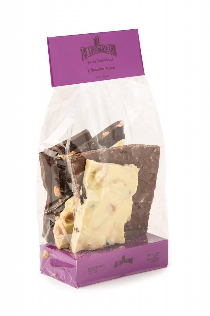 Block chocolate mix
