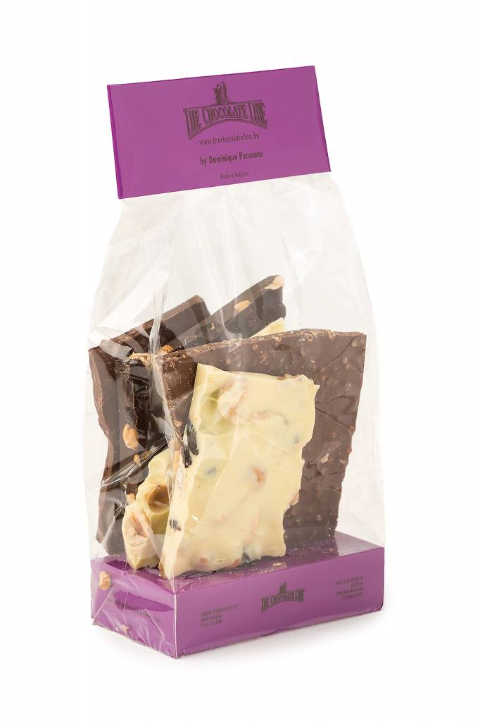 The Chocolate Line By Dominique Persoone Block chocolate mix