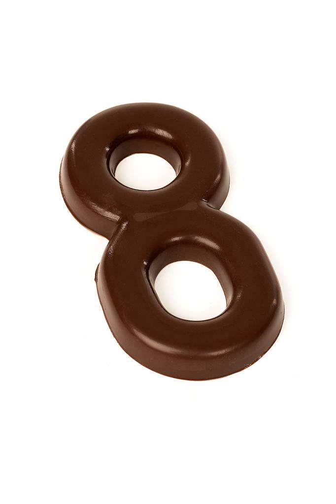 Chocolade cijfer Pure chocolade