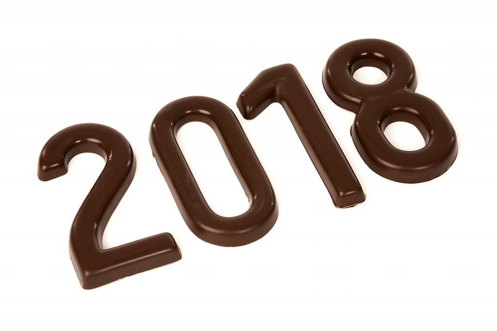 Chocolate number - Milk chocolate