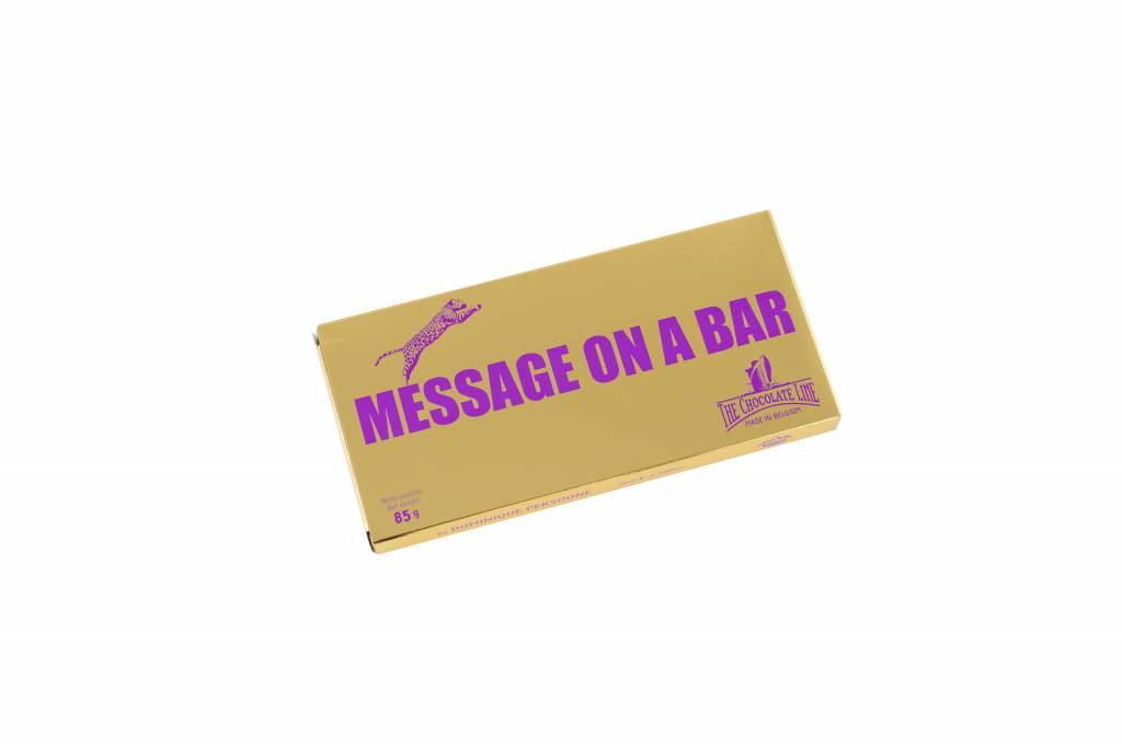 Message on a bar - Ready to Go
