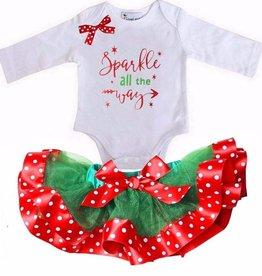 Kirei Sui Baby sparkle kerst setje