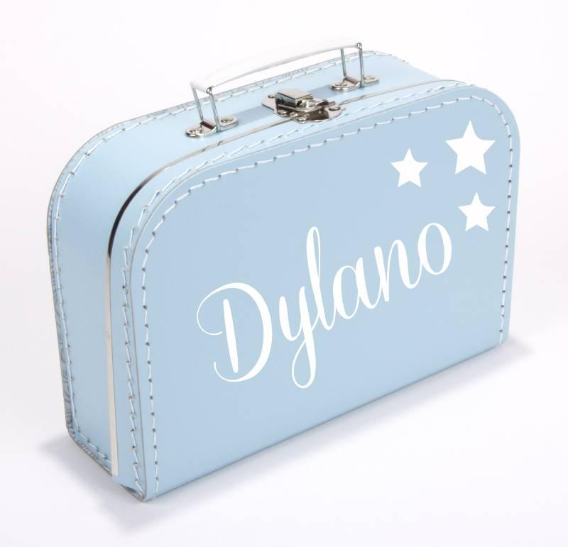 Kinderkoffertje sterren met naam 25cm