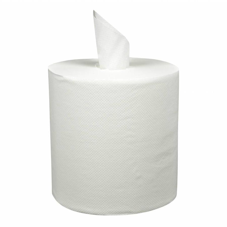 Handdoek Rol Midi Coreless 6 stuks 300m 1laags