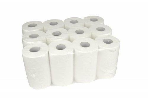 Handdoekrol Mini 1 laags cellulose