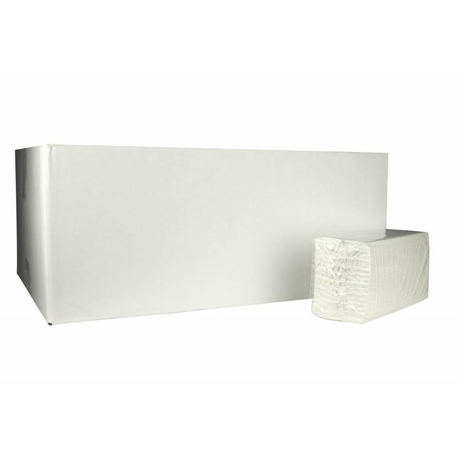 Papieren Handdoekjes 31 x 25 cm 3040 stuks 2laags