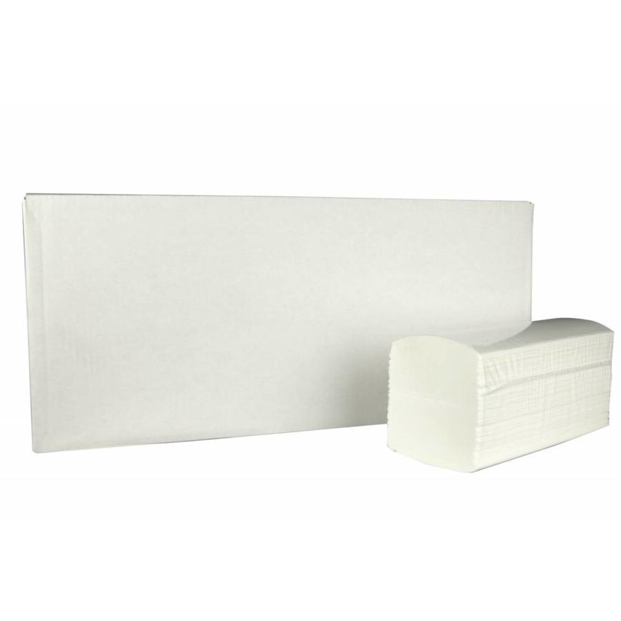 Handdoekjes Interfold 42 x 22 cm 2000 stuks 3laags