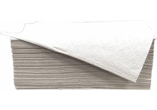 Vouwhanddoek 1 laags naturel Z