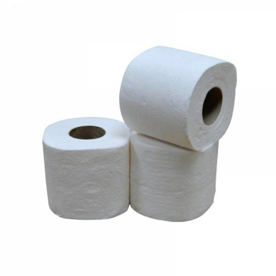 Toiletpapier Traditioneel 12x4 rollen 200 vellen 2 laags