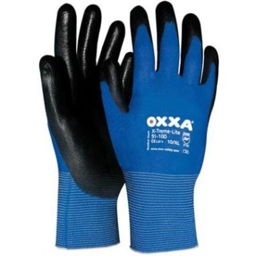 Werk handschoenen Light Oxxa X-Treme-Lite 51-100