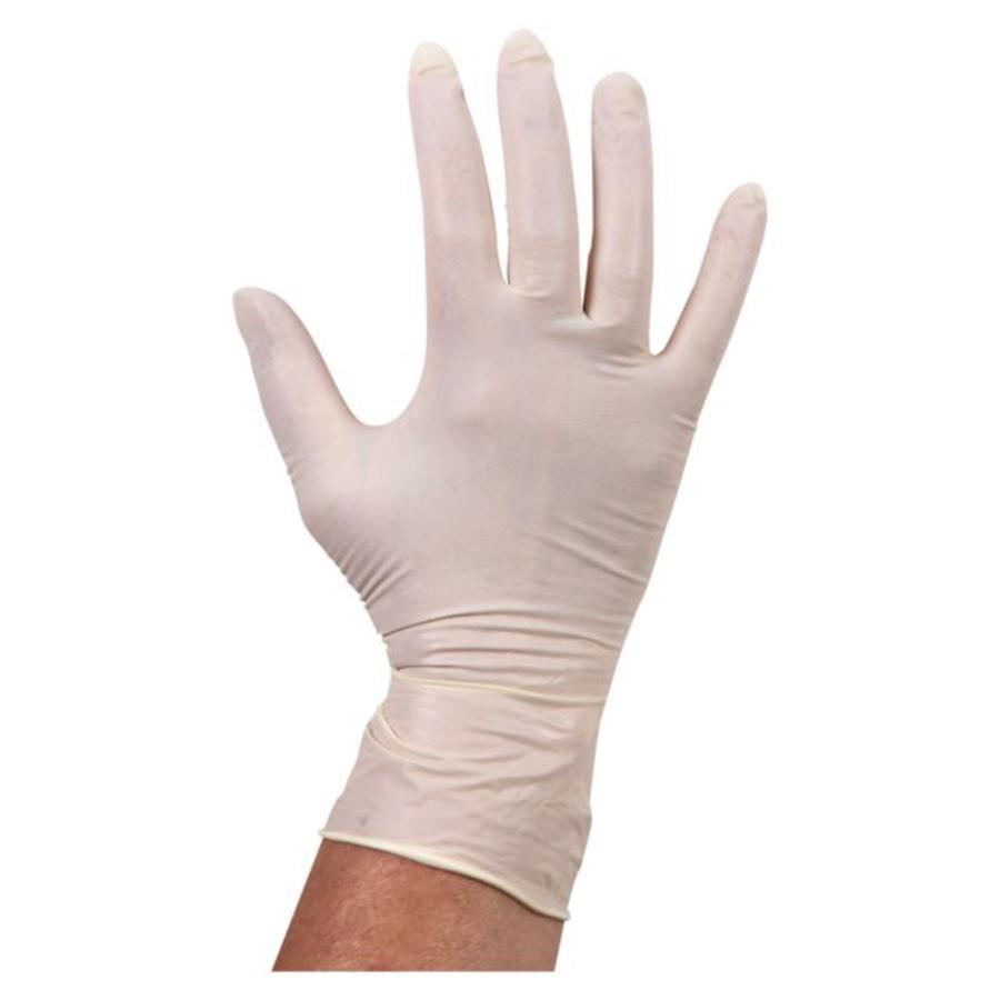 Witte Latex Handschoen ongepoederd - 1000 stuks