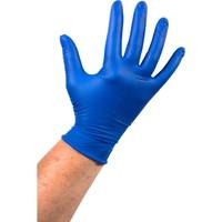 Latex wegwerp handschoenen 1000 stuks ongepoederd blauw
