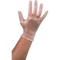 Vinyl Handschoen ongepoederd wit