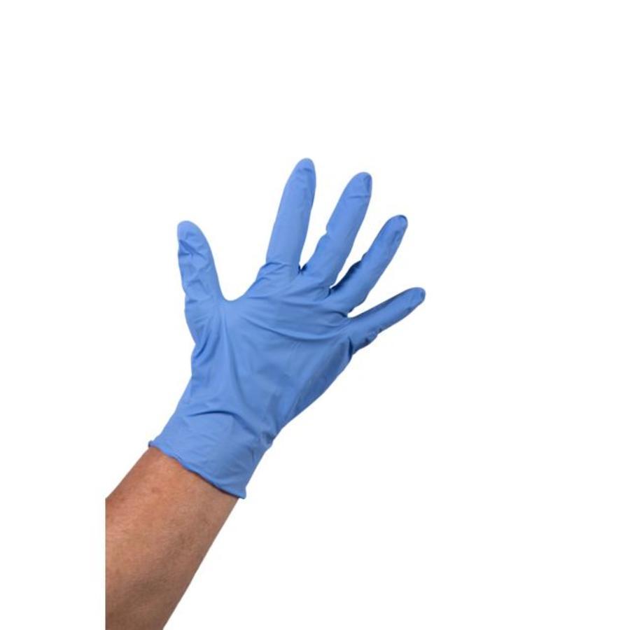 Nitril Heavy Duty 1000 stuks wegwerp handschoenen ongepoederd blauw