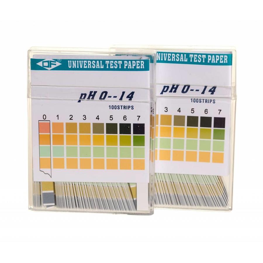 pH - test strip strookjes 3 x 100st