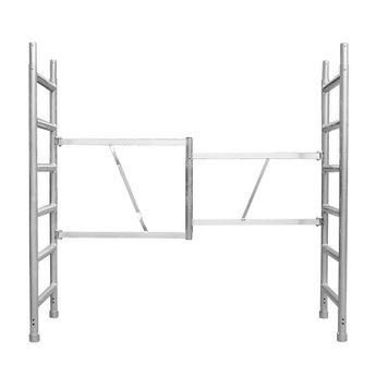 Euroscaffold Vouwunit / opzetstuk 75cm 6 sport (tip)