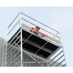 Euroscaffold Set houten kantplanken 2.50 x 0.75m