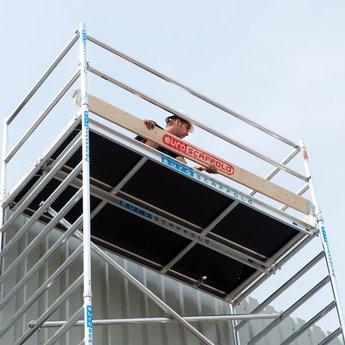 Euroscaffold Set houten kantplanken 1.90 x 1.35m