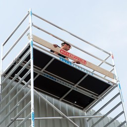 Euroscaffold Set houten kantplanken 2,50 x 1.35m