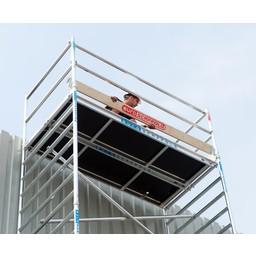 Euroscaffold Set houten kantplanken 3,05 x 1.35m