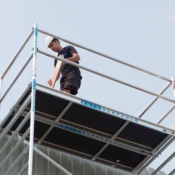 Euroscaffold Set aluminium kantplanken 1.90 x 0.75m
