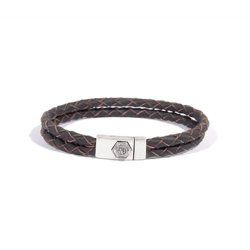 NO STRINGS ATTACHED - DARK BROWN - SILVER