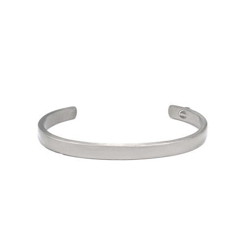 THE BE CUFFED 6,5MM - SILVER