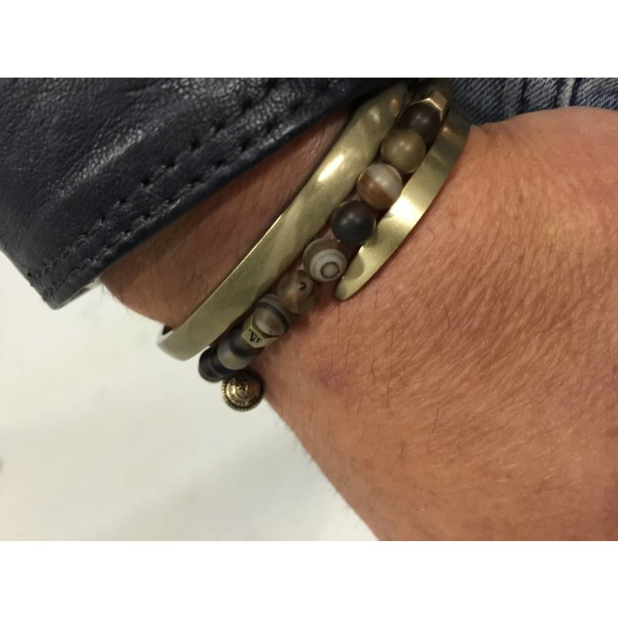 THE AMSTERDAM CUFF - BRASS