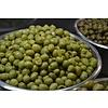 NEU! 200 GRAMM eingelegte Oliven mit Stein und gehacktem Knoblauch - KOHLENHYDRAT ARM