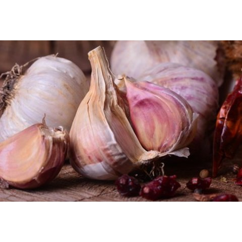 1 Kg purple garlic, from Andalucia