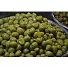 1 Kg eingelegte Oliven mit Stein und gehacktem Knoblauch - KOHLENHYDRAT ARM