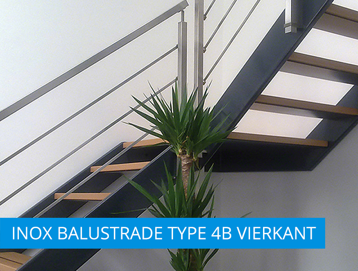 INOX balustrade type4B