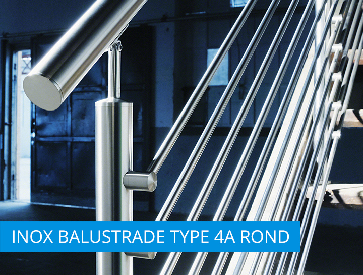 INOX balustrade type2A