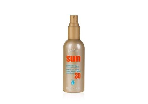 Jafra Sonnenschutz Spray für Gesicht und Körper SPF 30