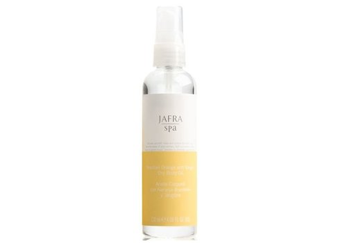 Jafra Orange und Ingwer Trockenölspray